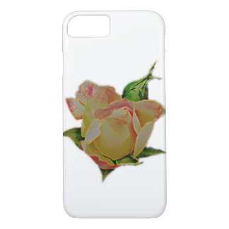 Neon rose iPhone 8/7 case