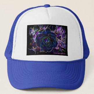 """""""Neon Rose"""" Truckers Hat"""