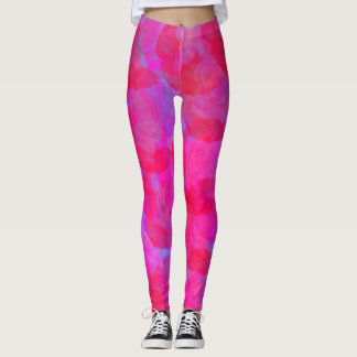 Neon Roses Leggings