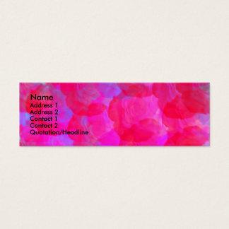 Neon Roses Profile Card