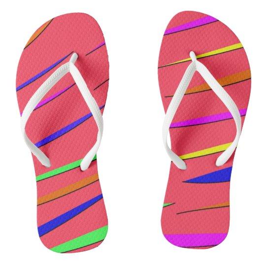 Neon Sandals Flip Flops
