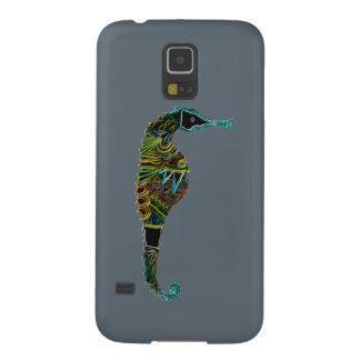 Neon Seahorse Galaxy S5 Cover