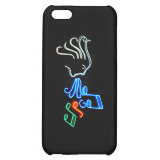 Neon Singer iPhone 5C Covers