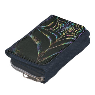 Neon spider net wallet