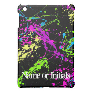 Neon Splatters Cover For The iPad Mini