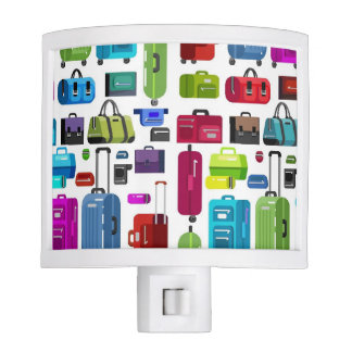 Neon Suitcases Night Lite