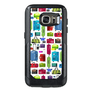 Neon Suitcases OtterBox Samsung Galaxy S7 Case