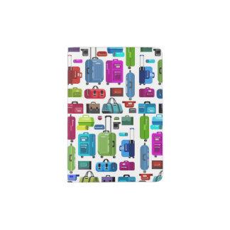 Neon Suitcases Passport Holder