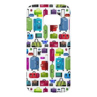 Neon Suitcases Samsung Galaxy S7 Case