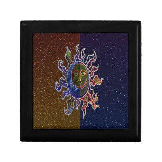 Neon Sun Moon Gift Box