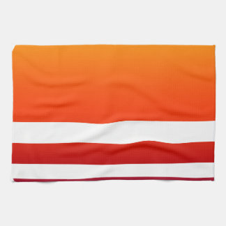 Neon Sunrise Hand Towel