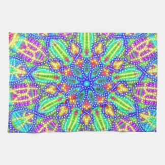 Neon Swirl Towels