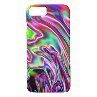 Neon Swirls iPhone 8/7 Case