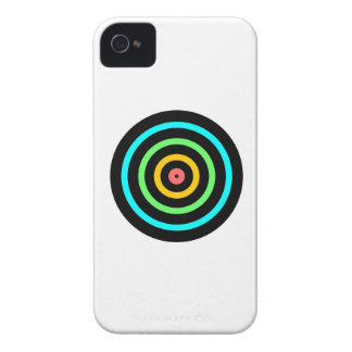 Neon Target iPhone 4 Cover