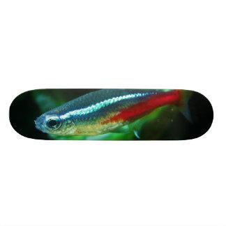 Neon Tetra Fish Paracheirodon Innesi Custom Skateboard