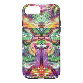 Neon Tribal Graffiti Abstract ArtWork iPhone 8/7 Case