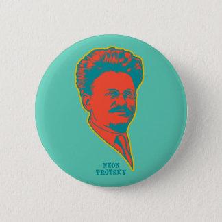 Neon Trotsky 2 Inch Round Button