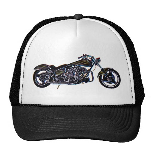 Neon V-twin Motorcycle Hat