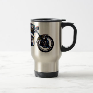 Neon V-twin Motorcycle Mug