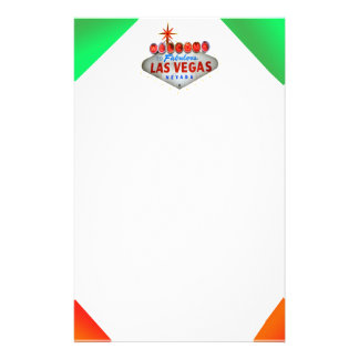 Neon Vegas Stationery