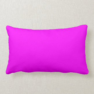 Neon Violet Purple Light Bright Fashion Color Throw Pillow