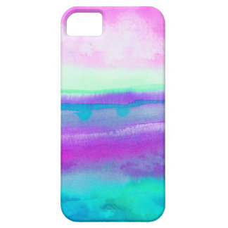 Neon Watercolor Destiny 1 iPhone 5 Cases
