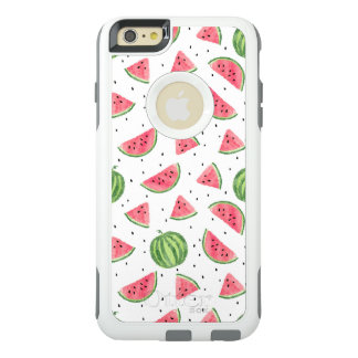 Neon Watercolor Watermelons Pattern OtterBox iPhone 6/6s Plus Case