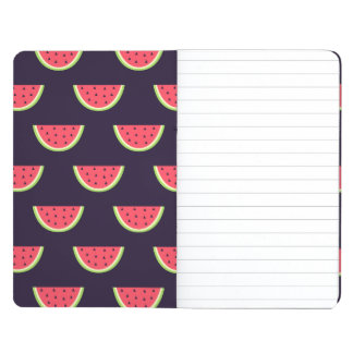 Neon Watermelon on Purple Pattern Journal