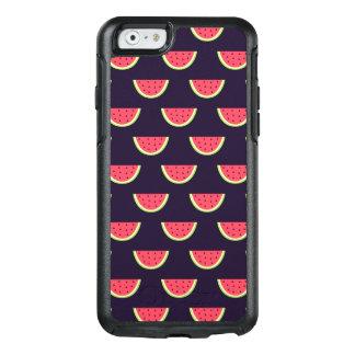 Neon Watermelon on Purple Pattern OtterBox iPhone 6/6s Case