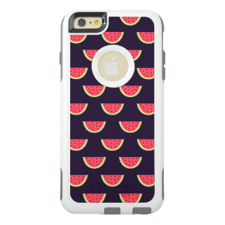 Neon Watermelon on Purple Pattern OtterBox iPhone 6/6s Plus Case
