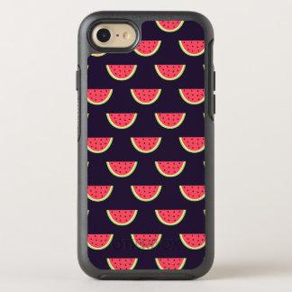 Neon Watermelon on Purple Pattern OtterBox Symmetry iPhone 8/7 Case