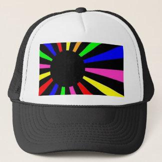 Neon World Flag Trucker Hat