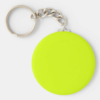 Neon Yellow High Visibility Key Chains