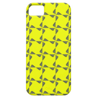 Neon Yellow Snake Pattern Design iPhone 5 Cases
