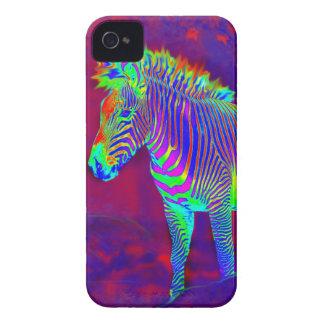 neon zebra i-phonecase iPhone 4 case