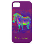 neon zebra iphone 5 protector