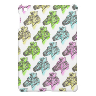 Neon Zebra Stripes Cover For The iPad Mini