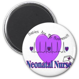 Neonatal Nurse Gift Ideas--Unique Designs 2 Inch Round Magnet