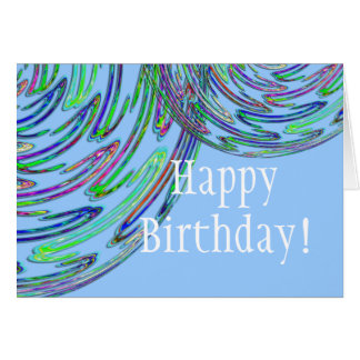 NEONS Happy Birthday! Card