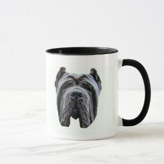 Neopolitan Mastiff face mug