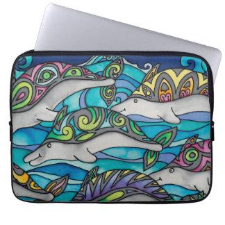 "Neoprene 13"" Laptop Sleeve: Dolphin Series Laptop Sleeve"