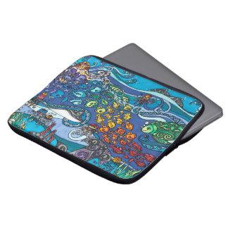 "Neoprene 13"" Laptop Sleeve: Under the Sea Series Laptop Sleeve"