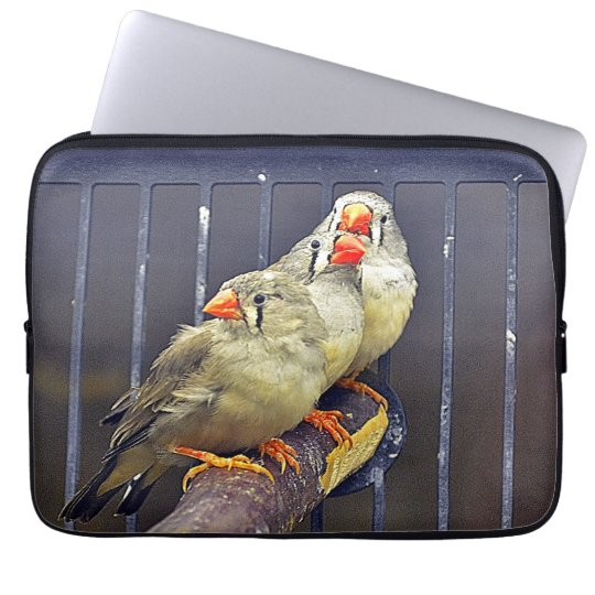 Neoprene Laptop Sleeve 13 inch/Three little Birds