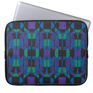 "Neoprene Laptop Sleeve 15"" Deco Arch Multicolor"