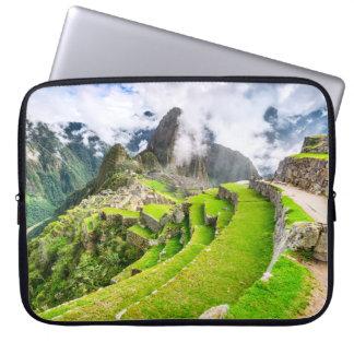 Neoprene Laptop Sleeve 15 inch Machu Picchu, Cusco