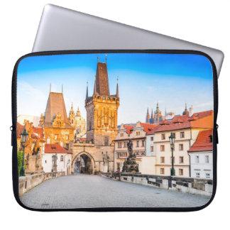 Neoprene Laptop Sleeve 15 inch Prague