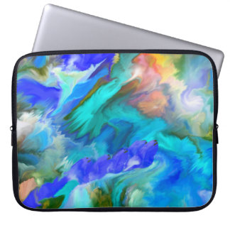 Neoprene Laptop Sleeve -ABSTRACT ART