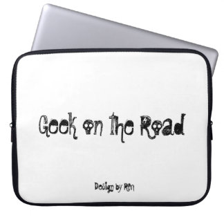 """Neoprene small pocket for laptop """"Geek"""" by REN Laptop Sleeve"""