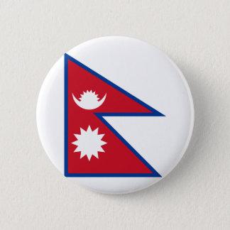 nepal 2 inch round button