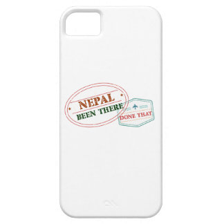 Nepal Been There Done That iPhone 5 Case